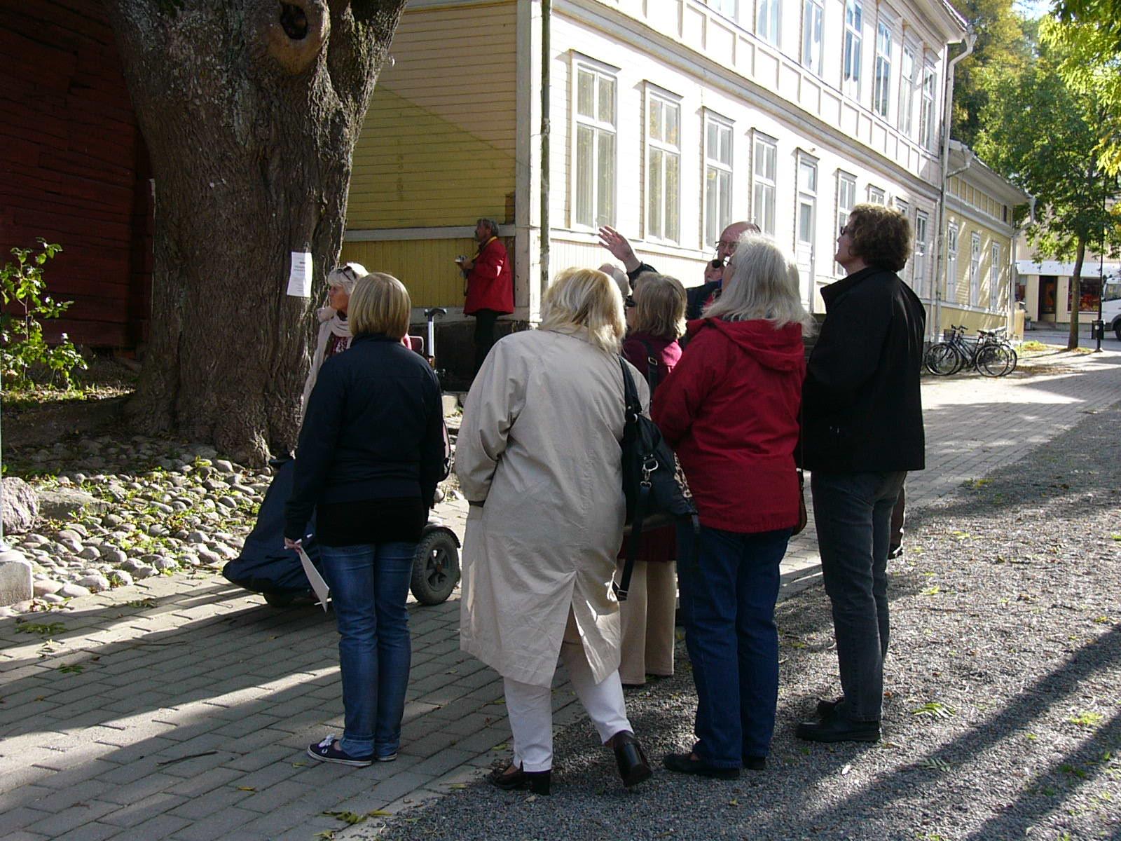 Foto från stadsvandring i Norrtälje.