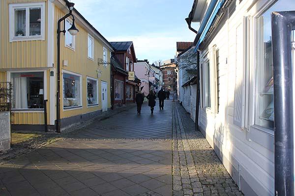 Foto av Gamla stan i Norrtälje