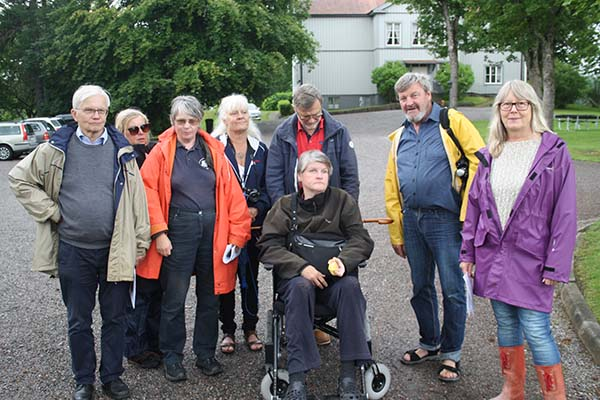 foto av guidgruppen