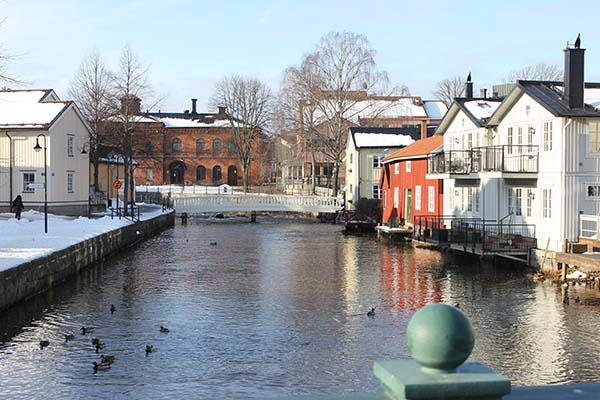 Foto av Norrtäljeån