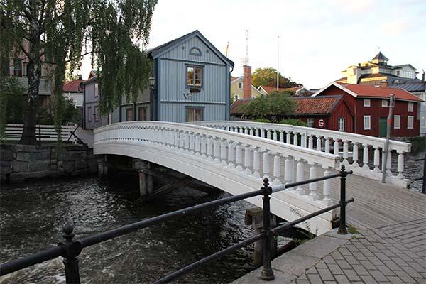 Foto av Societetsbron.