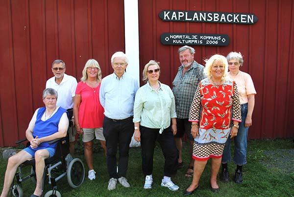 Ingela Jansson, Bo Persson, Eva Ekeroth, Lars-Gunnar Wallin, Eivor Larsson, Anders Djerf, Seija Rahm och Anette Hallsenius. Foto: Peter Ekeroth